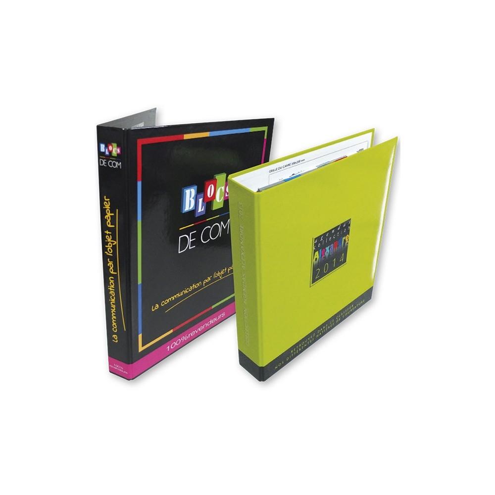 CLASSEUR PUBLICITAIRE - CRÉATION