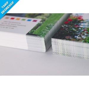DÉPLIANT PUBLICITAIRE A4