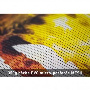 BACHE PVC 350