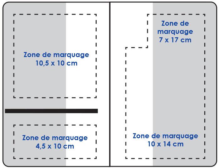 Zones de marquage - Garde ordonnance Picto Croix de vie