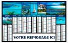 Atolls - Bancaire rigide maxi - Le Calendrier Pub