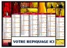 Caméléon - Bancaire rigide - Le Calendrier Pub