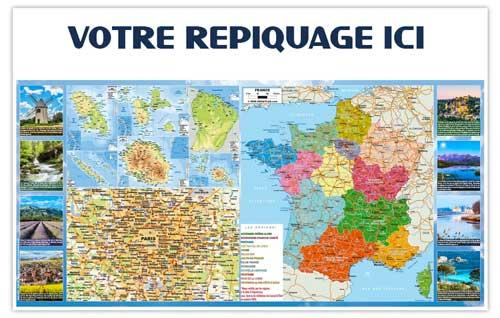 Dos France Régions - Bancaire maxi - Le Calendrier Pub