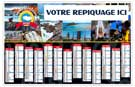 Terres bretonnes - Bancaire rigide maxi - Le Calendrier Pub
