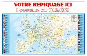 Dos Europe Bancaire Maxi - Le Calendrier Pub