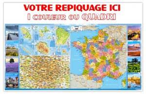 Dos France Départementale Bancaire Maxi - Le Calendrier Pub