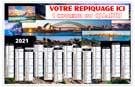 Calendrier bancaire Tour du Monde - Le Calendrier Pub