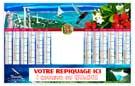Bancaire Maxi Tropic Souple - Le Calendrier Pub