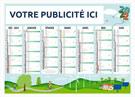 Calendrier bancaire Agro-Durable Medium / Midi - Le Calendrier Pub
