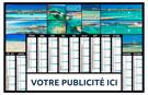 Calendrier bancaire Atolls - Le Calendrier Pub
