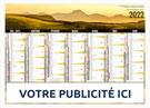 Calendrier bancaire Régional Auvergne Medium Midi - Le Calendrier Pub