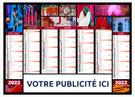 Calendrier bancaire Caméléon - Le Calendrier Pub