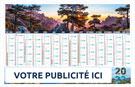 Calendrier bancaire Souple Choix CORSE - Le Calendrier Pub