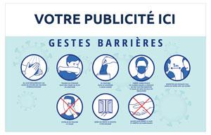 Dos GESYES BARRIÈRES Bancaire Maxi - Le Calendrier Pub