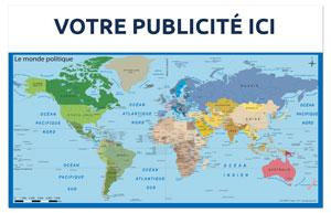 Dos Monde Politique Bancaire Maxi - Le Calendrier Pub