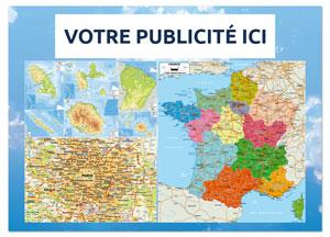 Verso Odilon Carte Routière Régionale - Le Calendrier Pub