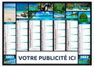 Calendrier bancaire Jeanne Medium / Midi - Le Calendrier Pub