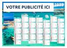 Calendrier bancaire Maritime Mini - Le Calendrier Pub