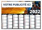 Calendrier bancaire Métal - Le Calendrier Pub