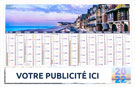 Calendrier bancaire souple SITE NORDISTE - Le Calendrier Pub