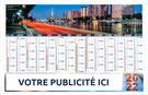 Calendrier bancaire Choix Parisien maxi rigide - Le Calendrier Pub
