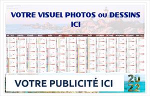 Bancaire Souple Site Régional Personnalisé - Le Calendrier Pub