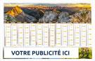 Calendrier bancaire Choix SITE savoyard maxi souple - Le Calendrier Pub