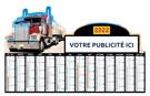 Bancaire Camions Maxi Rigide Découpé - Le Calendrier Pub