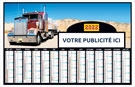 Bancaire Camions Medium Rigide - Le Calendrier Pub