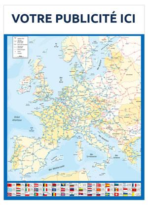 Dos Europe Marianne - Le Calendrier Pub