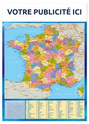 Dos France départementale Marianne - Le Calendrier Pub