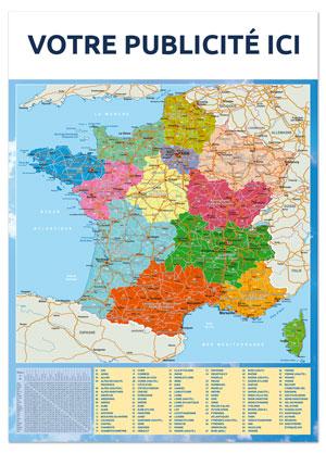 Dos France régionale Marianne - Le Calendrier Pub