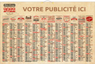 Vintage Maxi - Bancaire rigide maxi - Le Calendrier Pub