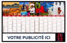 Calendrier bancaire Voyages - Le Calendrier Pub