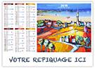 Bretagne - Bancaire rigide - Le Calendrier Pub