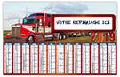 Camion - Bancaire rigide - Le Calendrier Pub