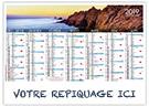Cornouaille - Bancaire rigide - Le Calendrier Pub