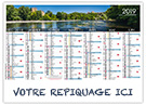 Dordogne - Bancaire rigide - Le Calendrier Pub