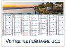 Gironde - Bancaire rigide - Le Calendrier Pub