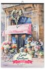 Calendrier illustré ESPRIT BOUTIQUES reliure Baguette - Le Calendrier Pub