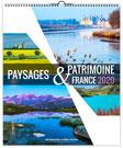 Calendrier illustré PAYSAGES ET PATRIMOINE reliure Spirale - Le Calendrier Pub