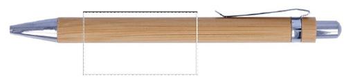 Zone impression stylo bille bambou - Le Calendrier Pub