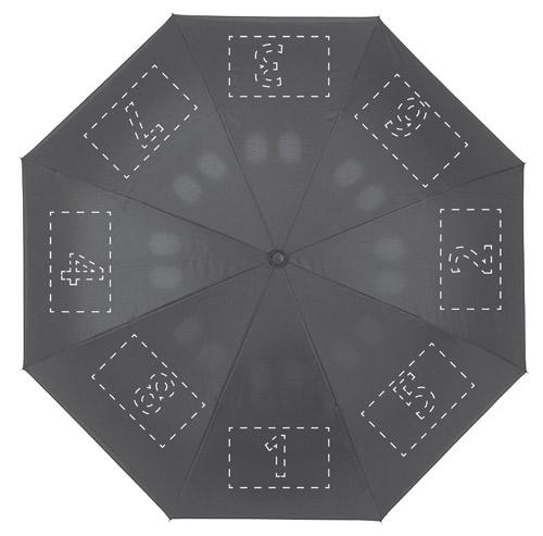 Zone d'impression Parapluie Inversé - Le Calendrier Pub