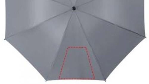 Zone d'impression Parapluie Golf 130 poignée EVA - Le Calendrier Pub