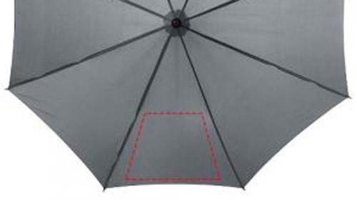 Zone d'impression Parapluie Classique  23 pouces - Le Calendrier Pub