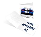 Design car - Carte de voeux 2020 - LE CALENDRIER PUB