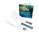 Underwater - Carte de voeux 2020 - LE CALENDRIER PUB