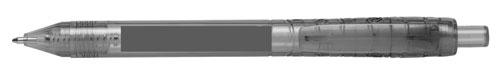 Zone d'impression Stylo Bille Bottle Pen RPET - Le Calendrier Pub