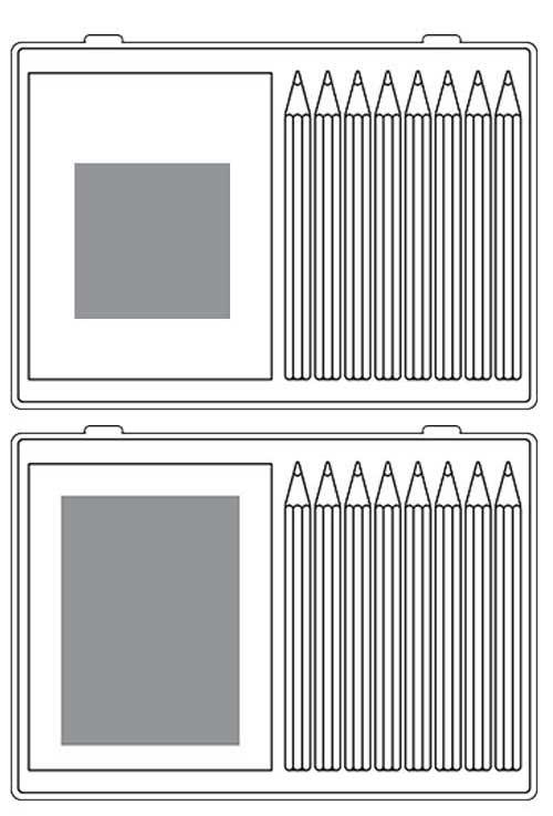 Zone d'impression Set Coloring - Le Calendrier Pub